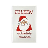 Eileen Christmas Rectangle Magnet