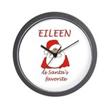 Eileen Christmas Wall Clock