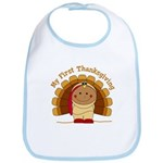First Thanksgiving (ta) Bib