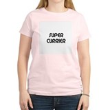 SUPER CURRIER  Women's Pink T-Shirt
