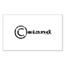 C-Stand Film Crew Rectangle Sticker 50 pk)