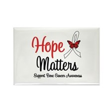 Bone Cancer Hope Matters Rectangle Magnet (10 pack