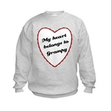 My Heart Belongs to Grampy Sweatshirt