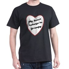 My Heart Belongs to Grampy T-Shirt
