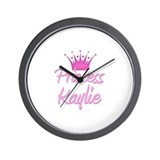 Princess Kaylie Wall Clock