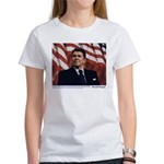 Reagan on Marx and Lenin Women's T-Shirt
