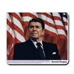 Reagan on Marx and Lenin Mousepad