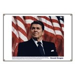 Reagan on Marx and Lenin Banner