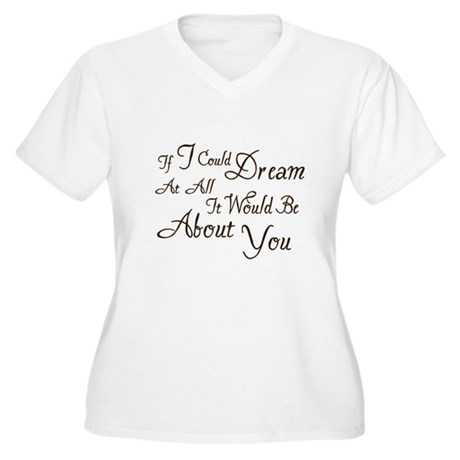 Twilight Dream Edward Women's Plus Size V-Neck T-S
