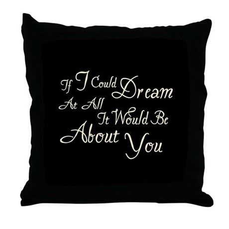 Twilight Dream Edward Throw Pillow