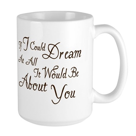Twilight Dream Edward Large Mug