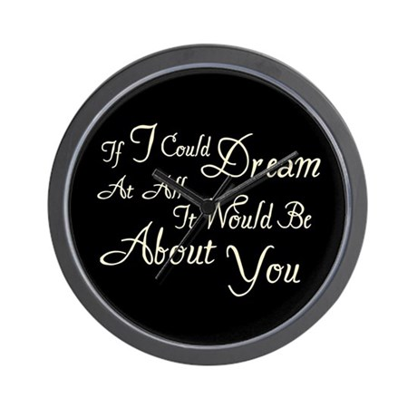 Twilight Dream Edward Wall Clock