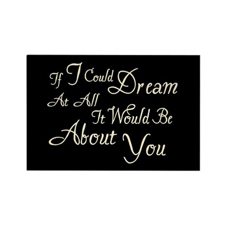 Twilight Dream Edward Rectangle Magnet (100 pack)