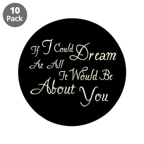 "Twilight Dream Edward 3.5"" Button (10 pack)"