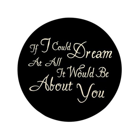 "Twilight Dream Edward 3.5"" Button (100 pack)"