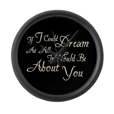 Twilight Dream Edward Large Wall Clock