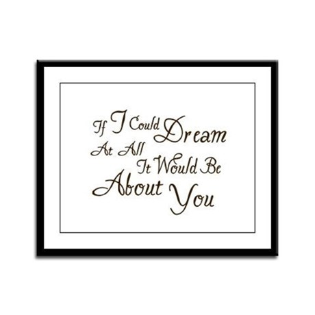 Twilight Dream Edward Framed Panel Print