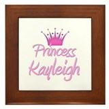 Princess Kayleigh Framed Tile