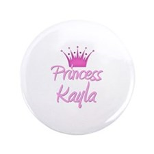 "Princess Kayla 3.5"" Button"