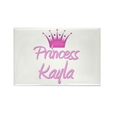 Princess Kayla Rectangle Magnet (10 pack)