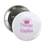 "Princess Kayden 2.25"" Button"