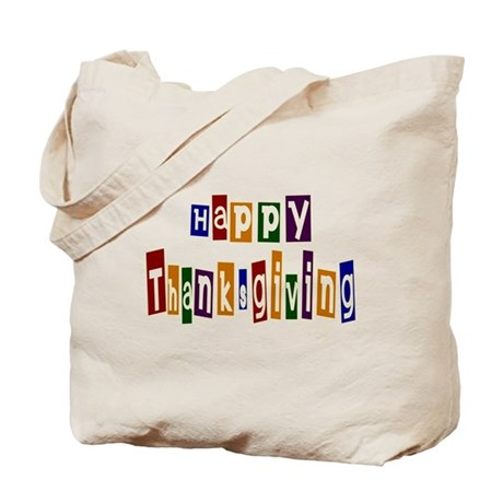 Fun Happy Thanksgiving Tote Bag