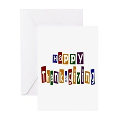 Fun Happy Thanksgiving Greeting Card