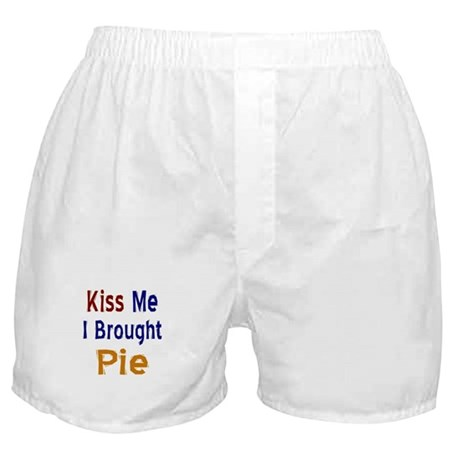 Funny Thanksgiving Pie Boxer Shorts