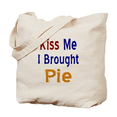 Funny Thanksgiving Pie Tote Bag