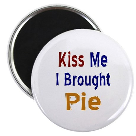 "Funny Thanksgiving Pie 2.25"" Magnet (10 pack)"