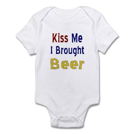 Funny Thanksgiving Beer Infant Bodysuit