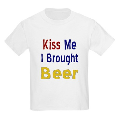 Funny Thanksgiving Beer Kids Light T-Shirt