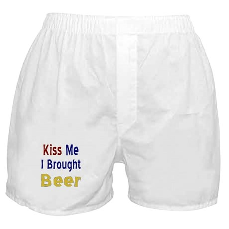 Funny Thanksgiving Beer Boxer Shorts