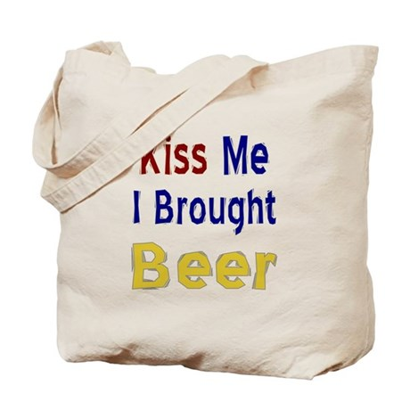 Funny Thanksgiving Beer Tote Bag