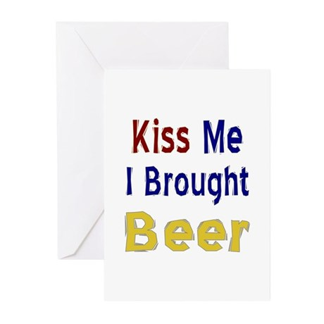 Funny Thanksgiving Beer Greeting Cards (Pk of 10)