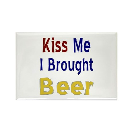 Funny Thanksgiving Beer Rectangle Magnet