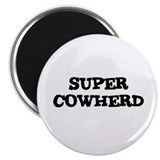 "SUPER COWHERD 2.25"" Magnet (10 pack)"