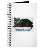 &quot;Therapy Cats Rule!&quot; Journal