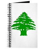 Green Cedar Tree Journal