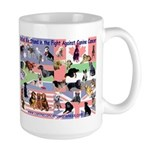 Canine Cancer Large Mug
