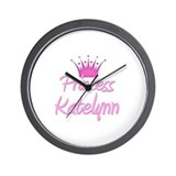 Princess Katelynn Wall Clock
