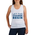 Let the Change Begin Women's Tank Top