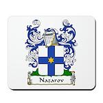 Nazarov Family Crest Mousepad