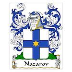 Nazarov Family Crest Small Poster