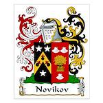 Novikov Family Crest Small Poster