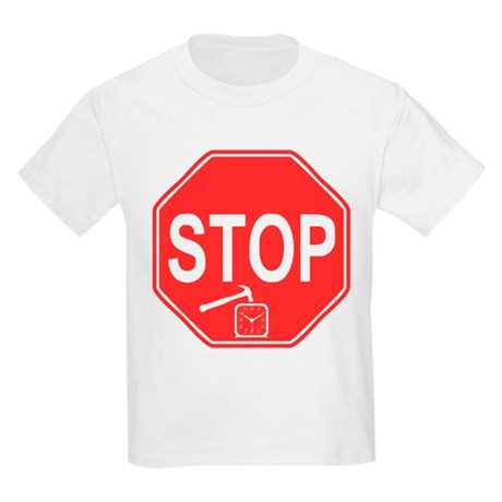 Stop! Hammer Time! Kids Light T-Shirt
