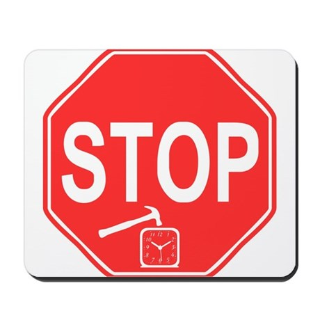 Stop! Hammer Time! Mousepad