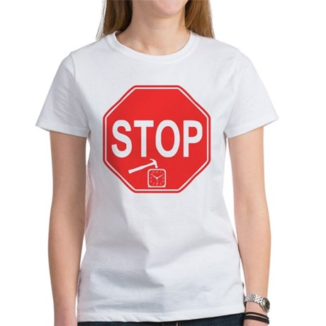 Stop! Hammer Time! Womens T-Shirt