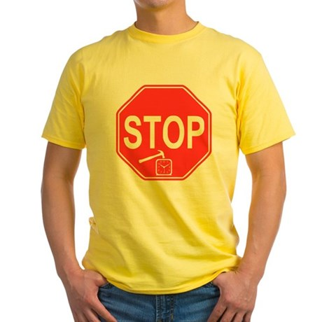 Stop! Hammer Time! Yellow T-Shirt