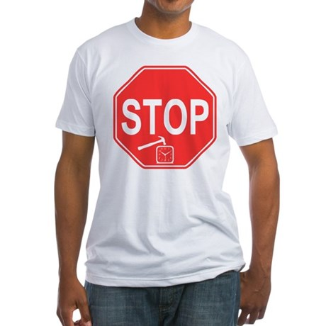 Stop! Hammer Time! Fitted T-Shirt